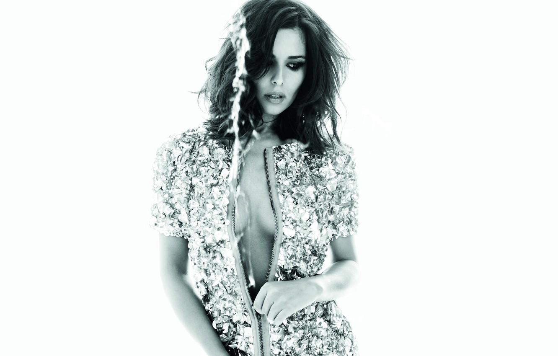 Photo wallpaper neckline, singer, Cheryl Cole