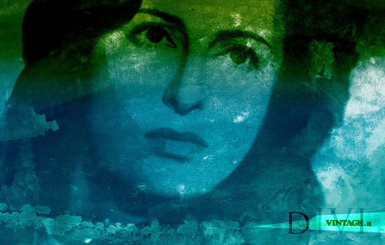 Photo wallpaper Italian actress, Anna Magnani, DIVI COLLECTION