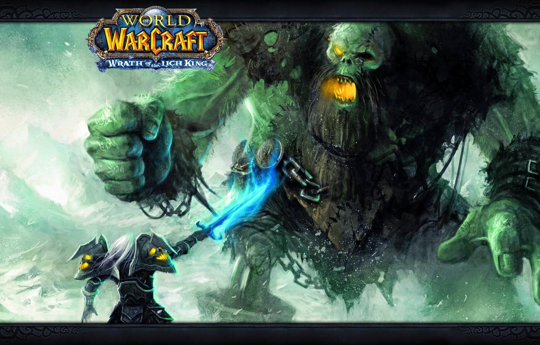 Wallpaper Wow Monster World Of Warcraft Death Knight