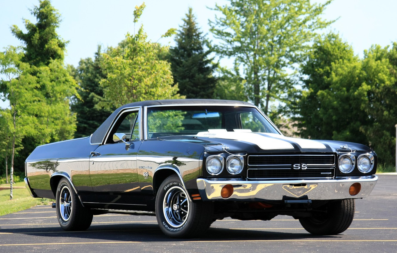 Photo wallpaper car, machine, Chevrolet, car, Chevrolet, Chevy, The Way, the El Camino, Chevy
