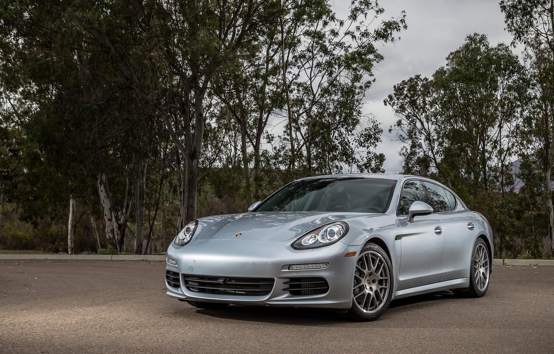 Photo wallpaper Porsche, Panamera, Porsche, US-spec, 2014, 970