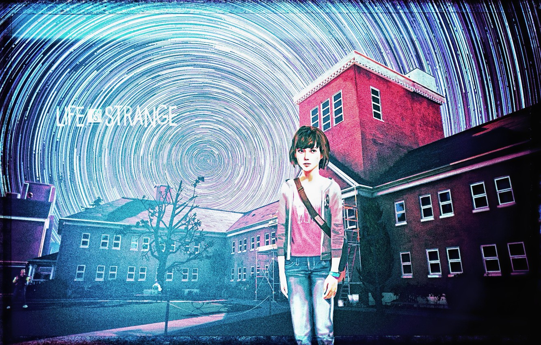 Photo wallpaper storm, the game, cyclone, fan art, Life is strange, Max Caulfield, Max Caulfield, DONTNOD