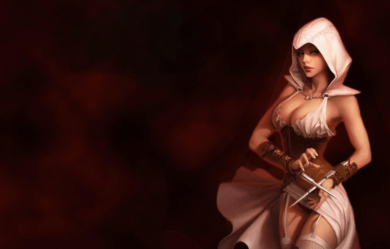 Photo wallpaper girl, order, Assassin's Creed, the assassinku, assassins