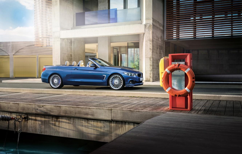 Photo wallpaper car, BMW, convertible, tuning, Alpina B4