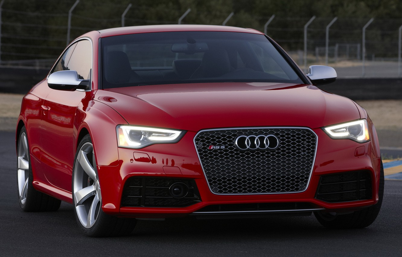 Photo wallpaper audi, coupe, rs5