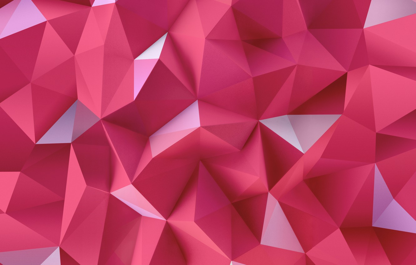 Wallpaper Abstraction Triangles Pink Lg G4 Wallpapers
