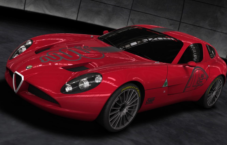 Photo wallpaper 2010, TZ3, Alfa, Corsa, Romeo