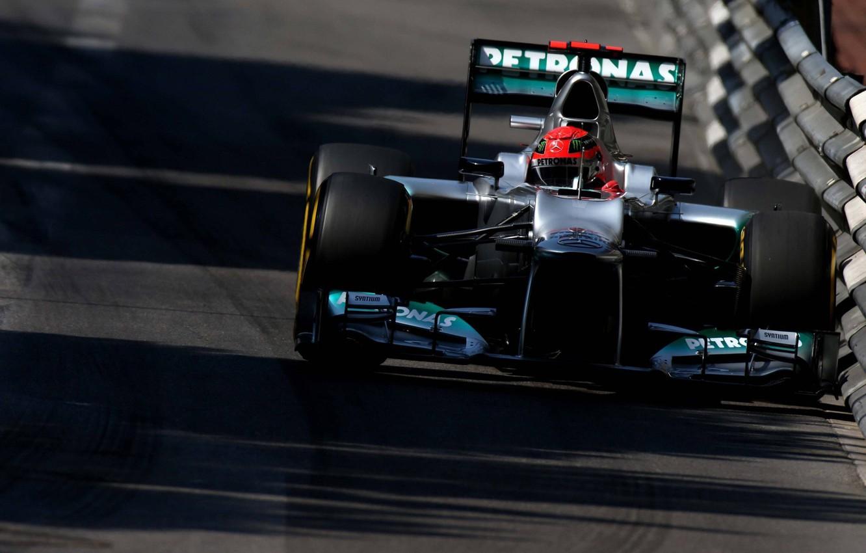 Photo wallpaper mercedes benz, Michael Schumacher