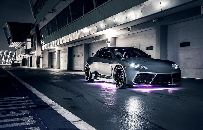 Photo wallpaper night, tuning, Mazda, Mazda RX-8