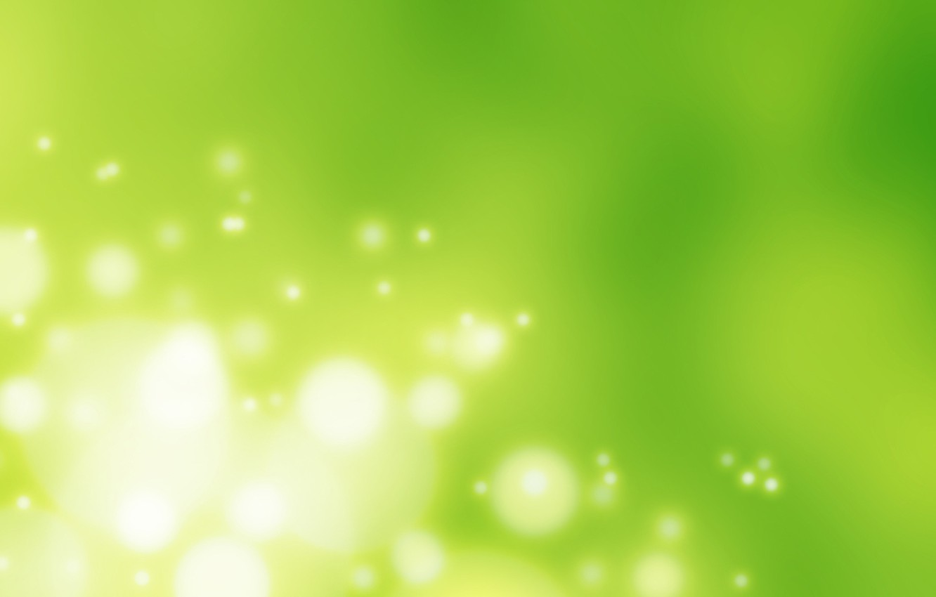 Photo wallpaper circles, abstraction, bubbles, green, texture, abstract, green, backgrounds, background texture