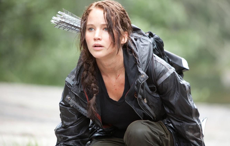 Wallpaper Brunette The Hunger Games Jennifer Lawrence