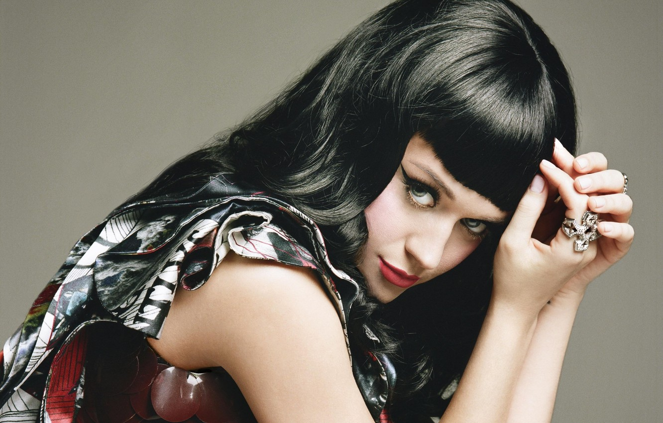 Photo wallpaper girl, makeup, Katy Perry, singer, katy perry