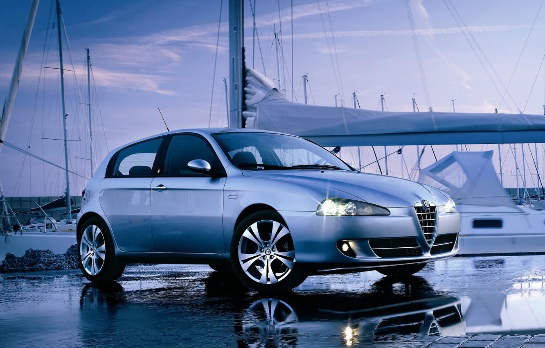 Photo wallpaper Alfa, 147, Alfa 147, Alfa Romeo cars, Alfa Romeo 147 Wallpaper, Alfa Romeo 147 Blue, …