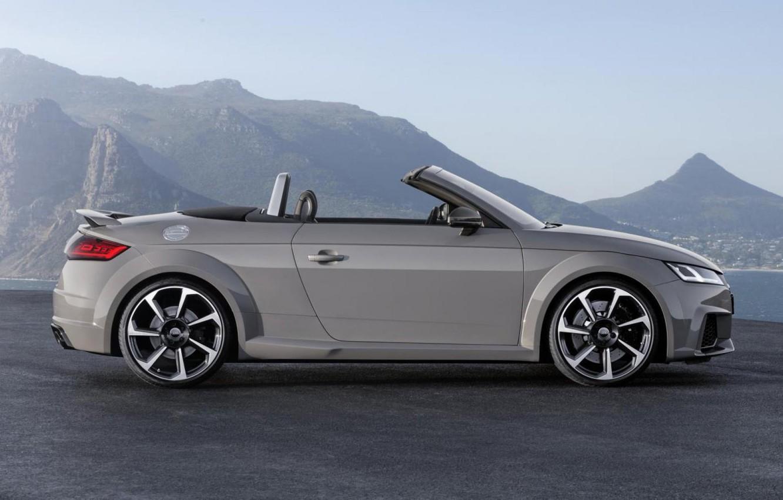 Photo wallpaper Audi, Roadster, Audi, Grey, Profile, Roadster