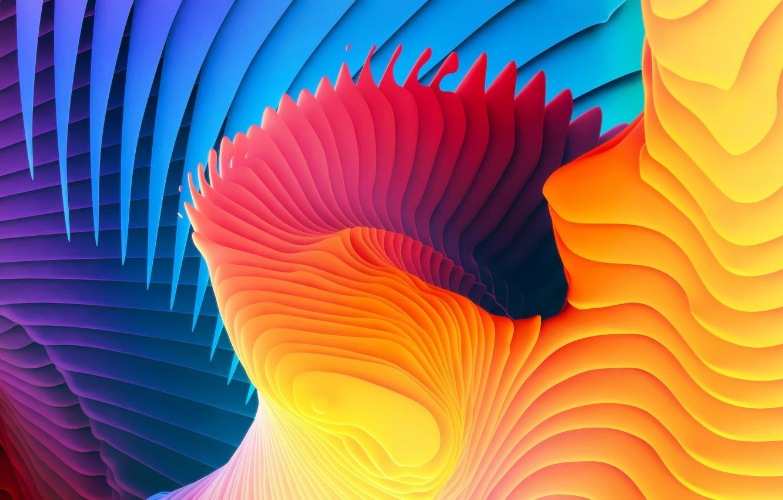Wallpaper Paint Color Abstraction Macbook Pro Retina