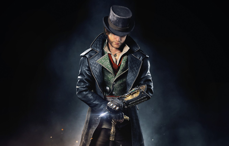 Photo wallpaper Hat, Cloak, Syndicate, Syndicate, Medallion, Equipment, Ubisoft Quebec, Cane, Blade, Assassin's Creed: Syndicate, Assassin's Creed: …