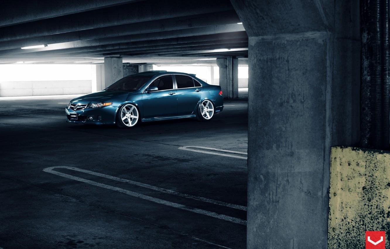 Photo wallpaper Auto, Machine, drives, Auto, Acura, Vossen, Wheels