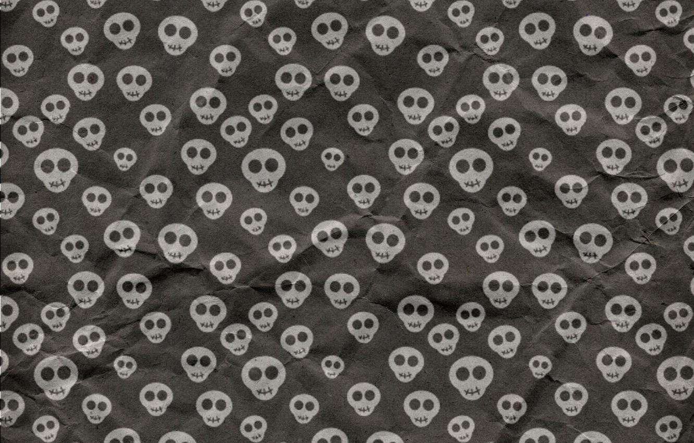 Photo wallpaper background, skull, texture, Halloween