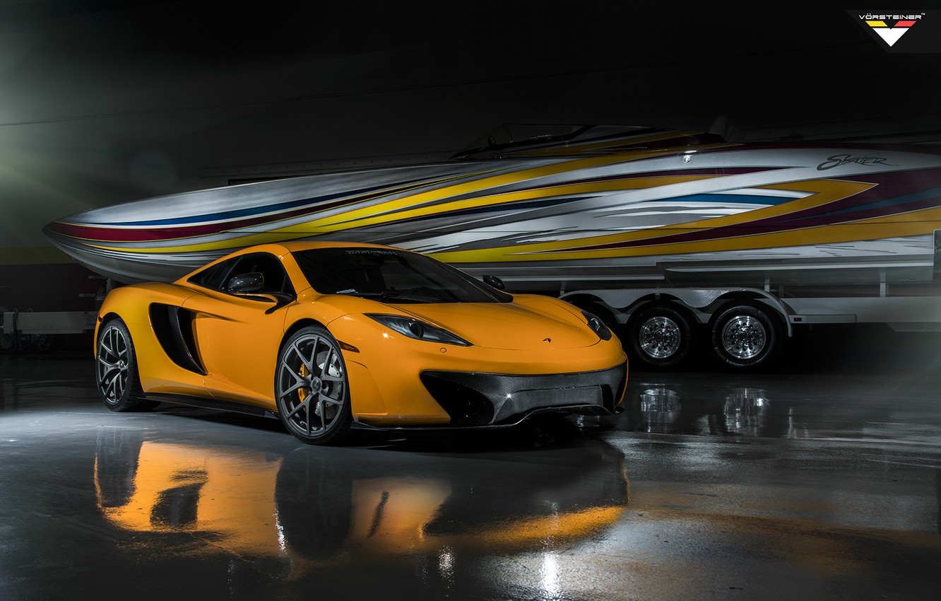 Photo wallpaper McLaren, Vorsteiner, MP4-VX