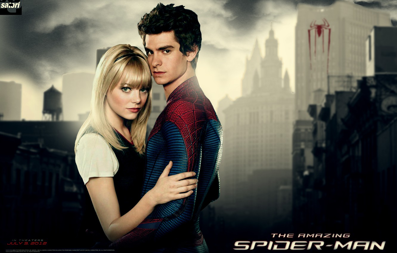 Wallpaper Peter Gwen The Amazing Spider Man Images For Desktop