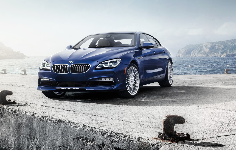 Photo wallpaper BMW, Gran Coupe, xDrive, US-spec, F06, Alpina, 2015