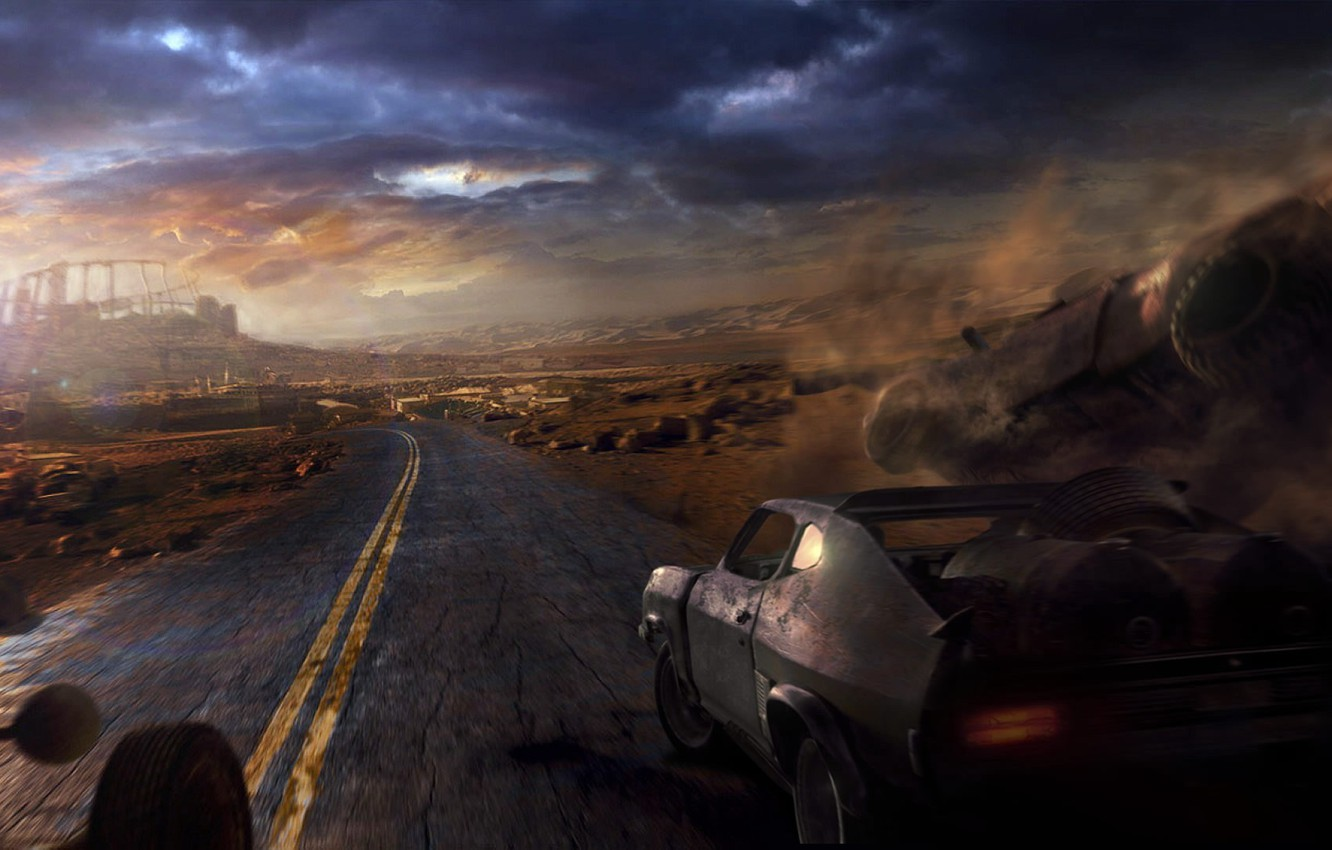 Wallpaper Road Mad Max Mad Max Images For Desktop Section