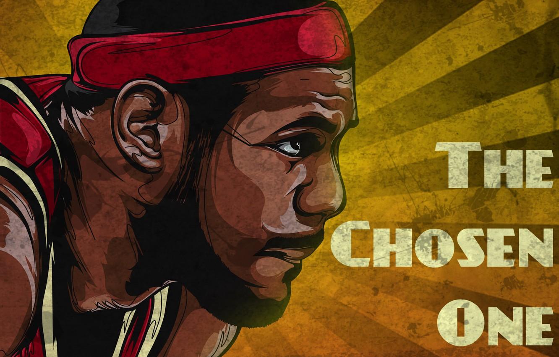Wallpaper Basketball Art Nba Nba Basketball Lebron James Retro