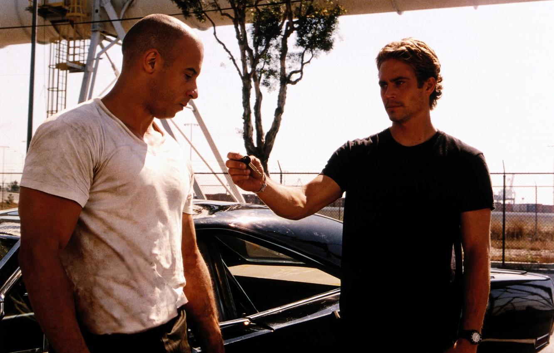 Photo wallpaper VIN Diesel, Paul Walker, The fast and the furious, Vin Diesel, Paul Walker, The Fast …