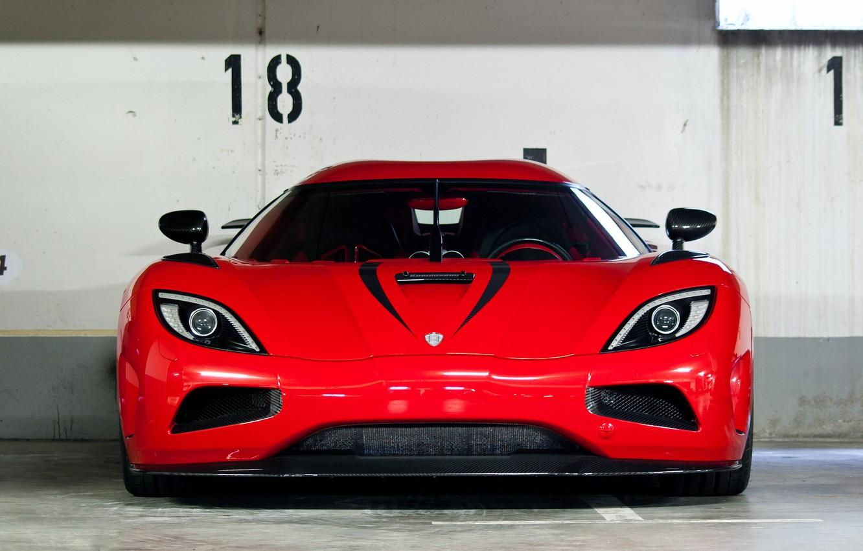 Photo wallpaper red, supercar, red, supercar, agera R, Koenigsegg, koenigsegg, agera r