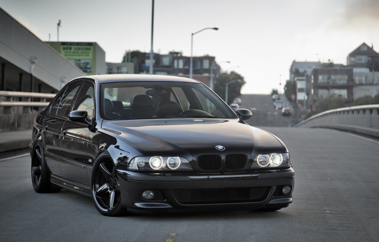 Photo wallpaper BMW, 2000, E39