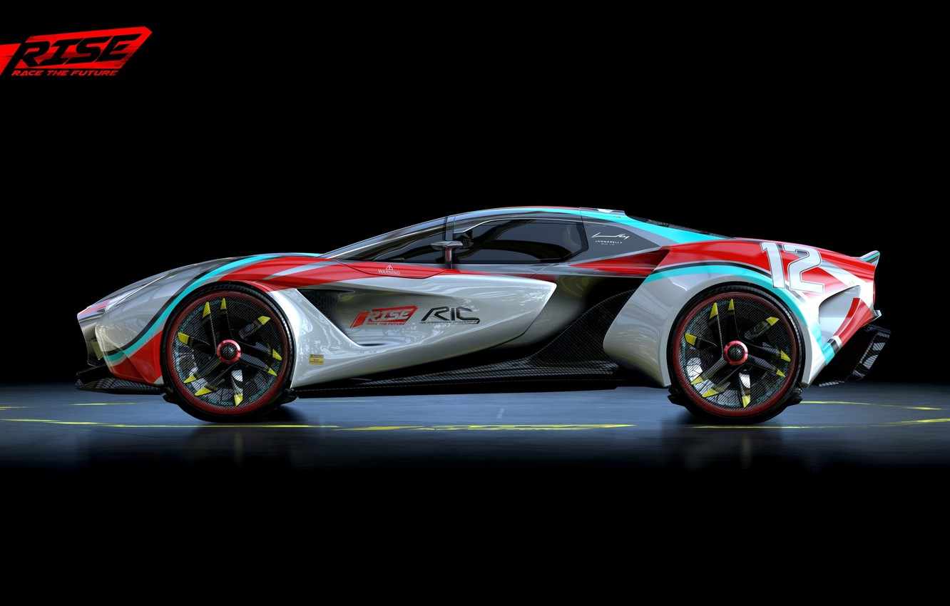 Wallpaper Car Wallpaper Silver Sport Red Game Supercar Design