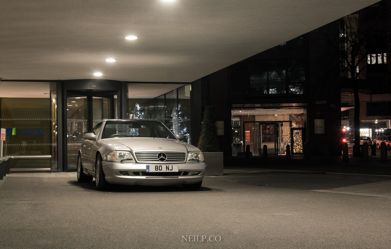Photo wallpaper Mercedes, R179, SL500