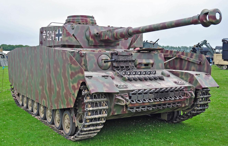 Char Panzer IV - WalkAround - Photographies - English