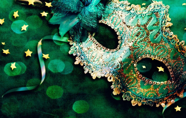 Photo wallpaper tape, mask, stars