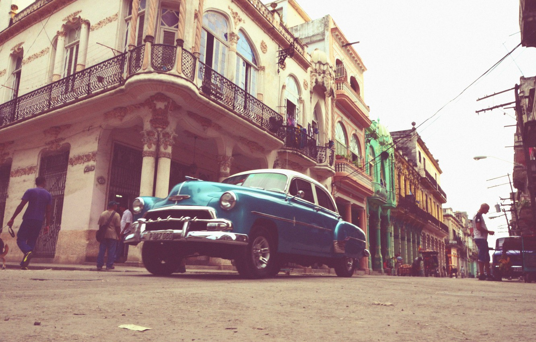 Wallpaper People Street Car Cuba Havana Images For