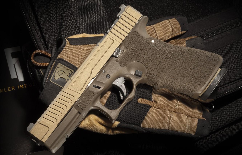 Photo wallpaper weapons, Austria, Glock 17, self-loading pistol
