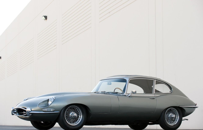Photo wallpaper jaguar, coupe, series, e-type, 1968-71