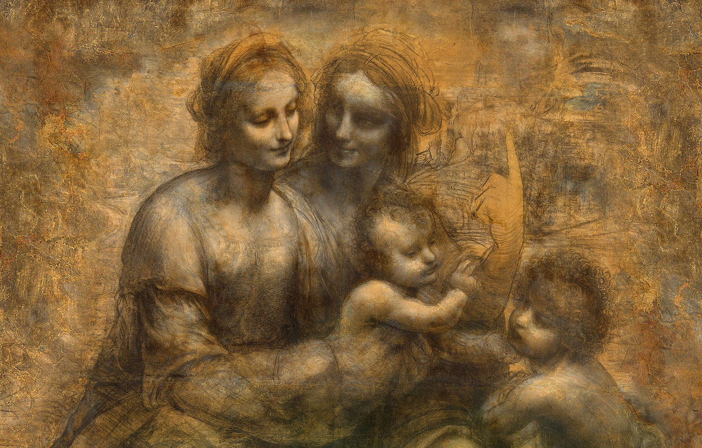 Wallpaper London Leonardo Da Vinci 1499 1500 National
