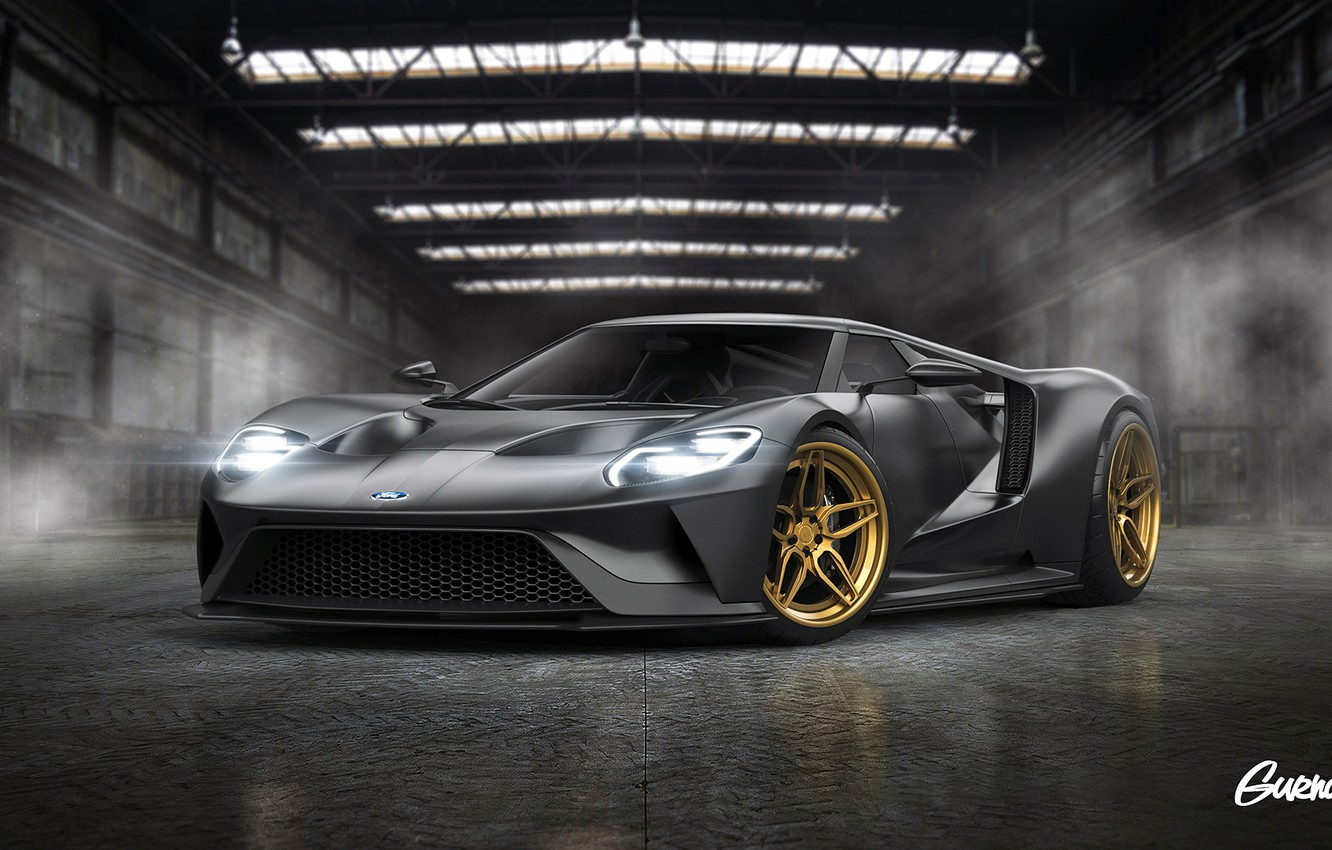 Photo wallpaper Ford, Color, Grey, Tuning, Wheels, ADV.1, by Gurnade