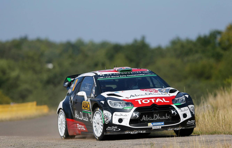 Photo wallpaper Citroen, DS3, Germany, WRC, Rally, Kris Meeke