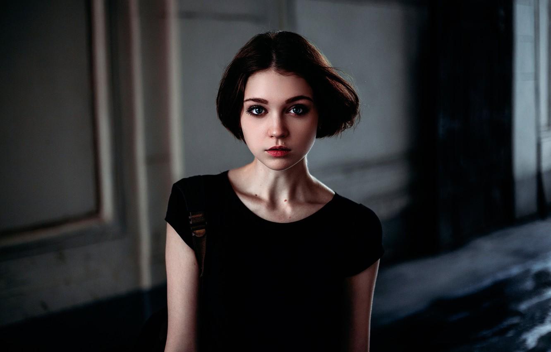 Photo wallpaper portrait, the beauty, Olga Pushkina, Ivan Proskurin