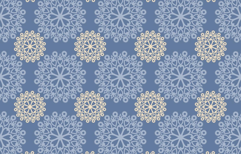 Photo wallpaper pattern, texture, ornament, blue background