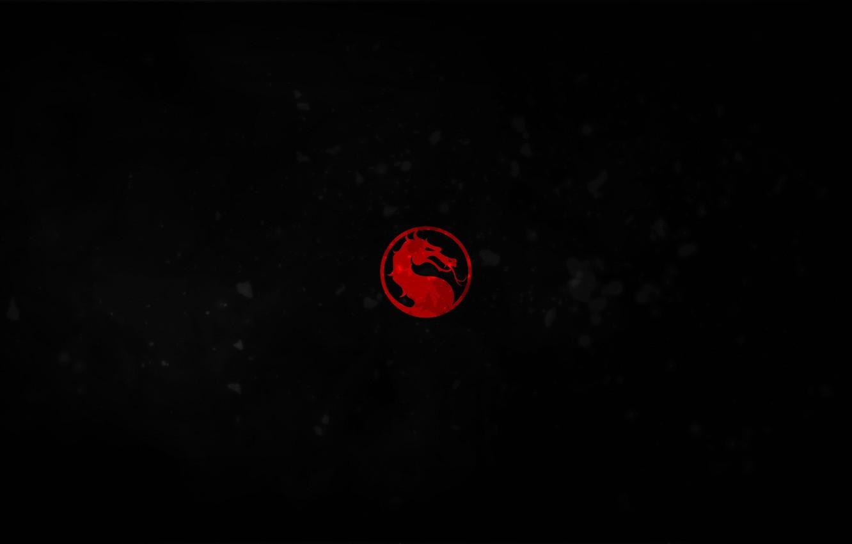 Wallpaper Red Black Dragon Emblem Mortal Combat Images For