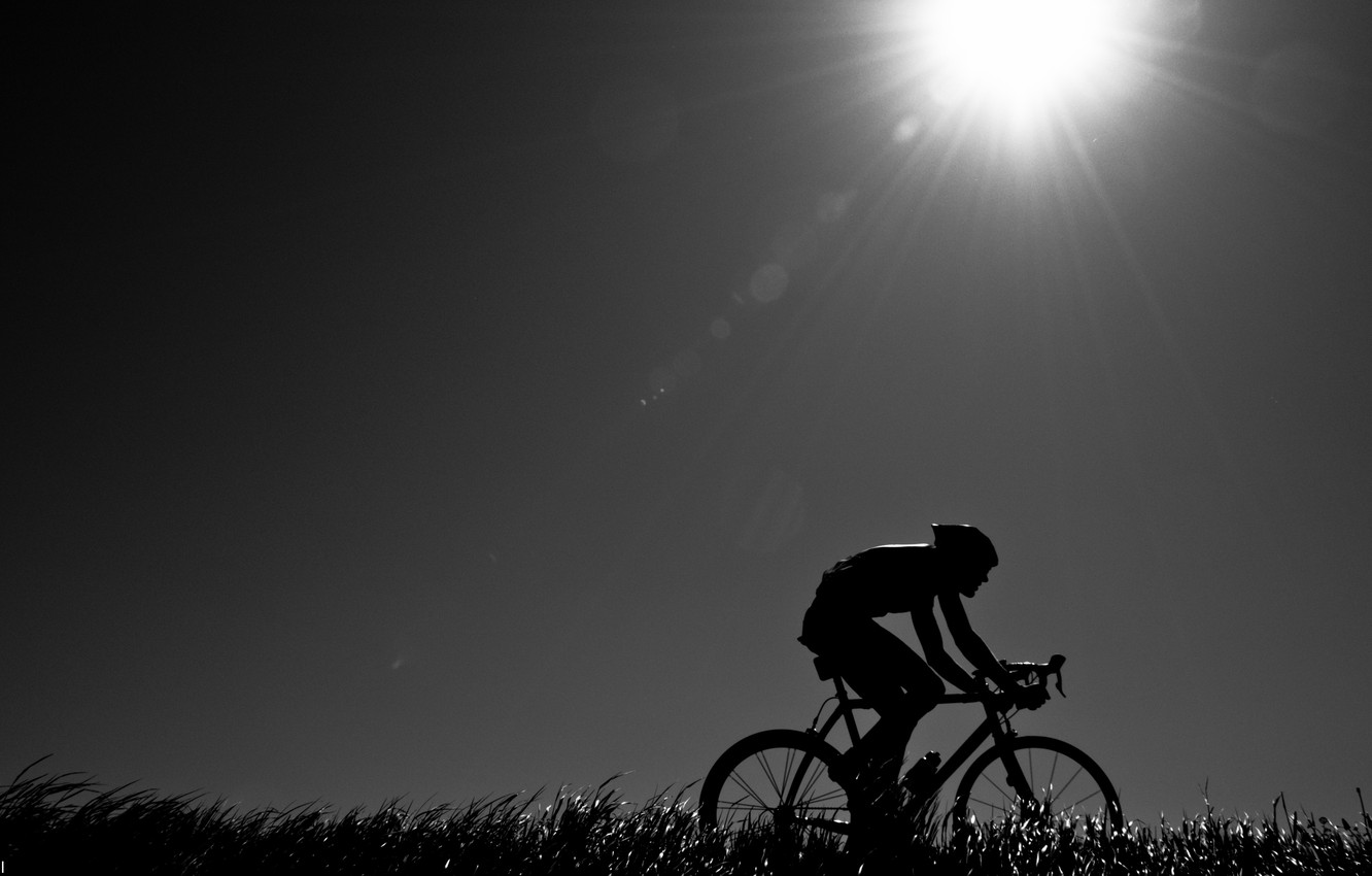 Wallpaper Nature Mood The Evening Athlete Cyclist Road