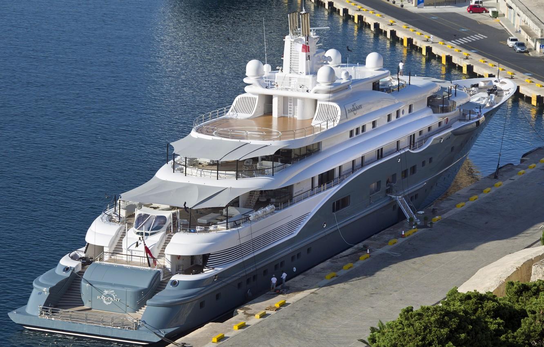 Photo wallpaper yacht, pier, Malta, Malta, Radiant