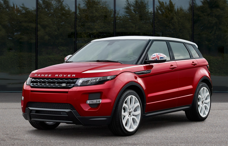 Photo wallpaper car, range rover, evoque