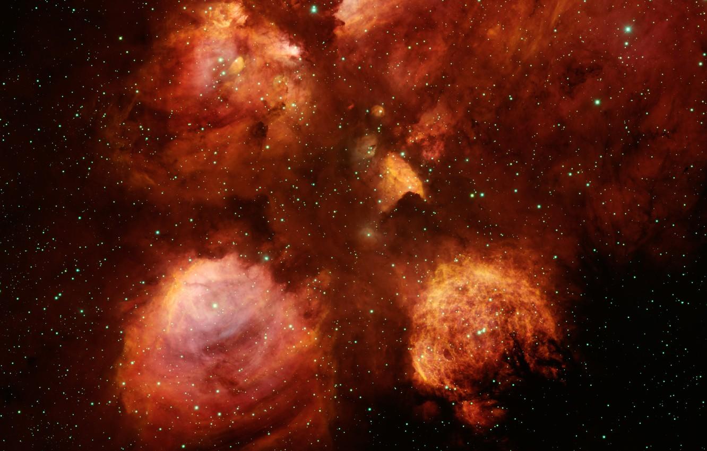 Photo wallpaper Nebula, nebula, catspaw, cat's paw