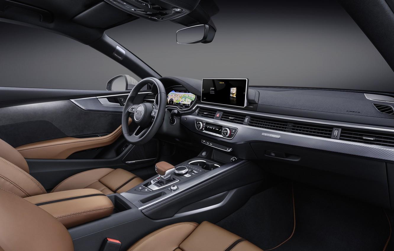 Photo wallpaper Audi, audi, salon, interior
