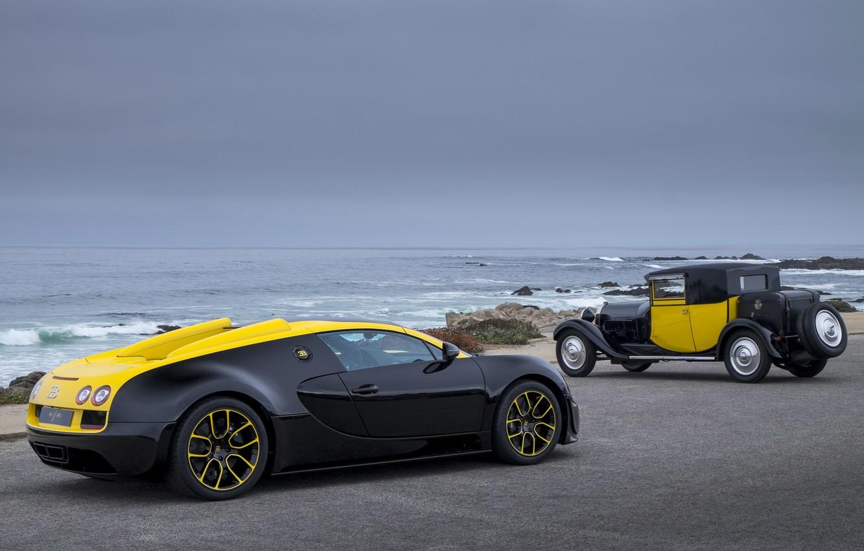 Photo wallpaper Bugatti Veyron, Grand Sport Vitesse, 1of1, Luxury