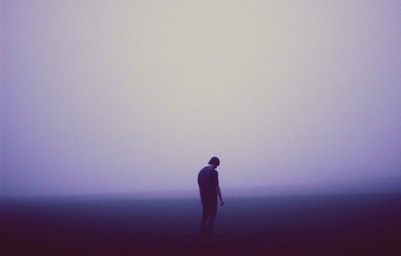 Wallpaper Misty Sad Man Melancholy Foggy Images For
